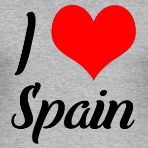 I love Spain - Männer Slim Fit T-Shirt