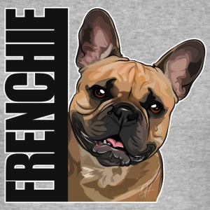 FRENCHIE DA - Männer Slim Fit T-Shirt