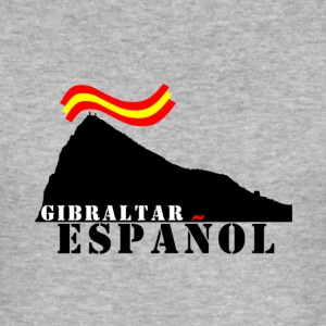 GIBRALTAR Spanish gray - Men's Slim Fit T-Shirt