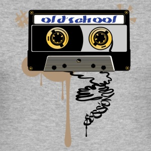 Old school session - Slim Fit T-shirt herr