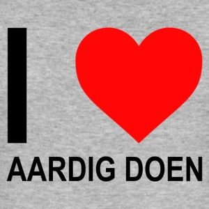 I Love Aardig Doen dames - slim fit T-shirt
