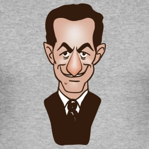 sarkozy - Slim Fit T-shirt herr
