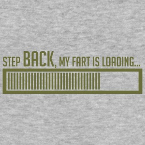 STEP BACK, mijn tocht wordt geladen - slim fit T-shirt