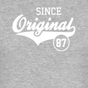 Original Since 1987 - Men's Slim Fit T-Shirt
