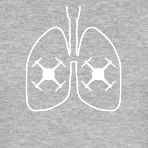 Lungs lunge drone drone fly control - Men's Slim Fit T-Shirt