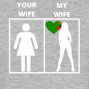 Zambia gift my wife your wife - Men's Slim Fit T-Shirt