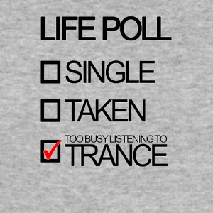 Trance Livet Poll - Slim Fit T-skjorte for menn