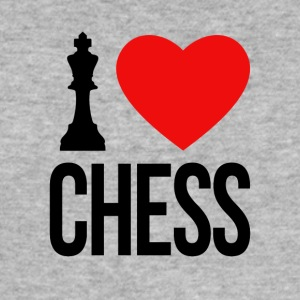 I LOVE CHESS - Herre Slim Fit T-Shirt