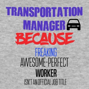 Transport manager - Herre Slim Fit T-Shirt