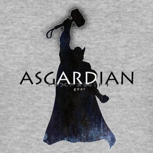 Asgardian Thor (svart) - Slim Fit T-skjorte for menn