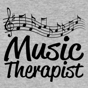 music therapist - Männer Slim Fit T-Shirt