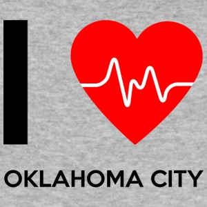 I Love Oklahoma City - I Love Oklahoma City - Men's Slim Fit T-Shirt