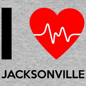 I Love Jacksonville - I love Jacksonville - Men's Slim Fit T-Shirt