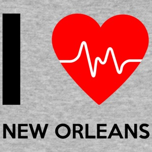 I Love New Orleans - jeg elsker New Orleans - Herre Slim Fit T-Shirt