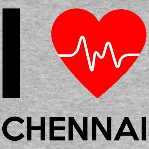 I Love Chennai - I Love Chennai - Men's Slim Fit T-Shirt