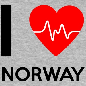 I Love Norway - I love Norway - Men's Slim Fit T-Shirt