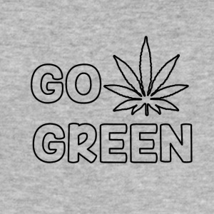 GO GREEN - Slim Fit T-skjorte for menn