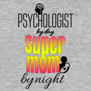 Psychologist by day super mom by night - Männer Slim Fit T-Shirt