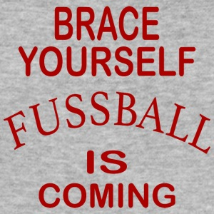 Brace Yourself Football Is Coming - Red - Tee shirt près du corps Homme