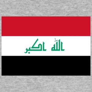 Nationalflagge des Irak - Männer Slim Fit T-Shirt