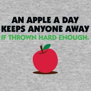 An Apple A Day Keeps Everyone Away! - Men's Slim Fit T-Shirt