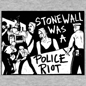 Stonewall was a police riot - Men's Slim Fit T-Shirt