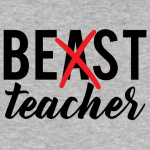 Teacher / School: Best Teacher - Men's Slim Fit T-Shirt