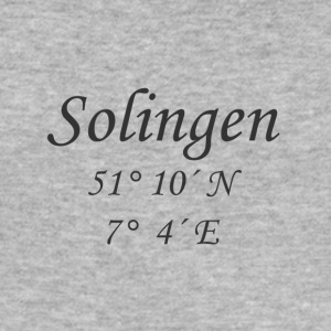 koordinater Solingen - Slim Fit T-skjorte for menn
