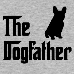 Den Dogfather Black - Herre Slim Fit T-Shirt