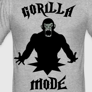 Gorilla fashion2 - Men's Slim Fit T-Shirt