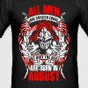 August - All men are created equal - EN - Slim Fit T-shirt herr