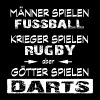 Darts -Götter - Männer Slim Fit T-Shirt