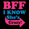 I Know She's Crazy - Men's Slim Fit T-Shirt