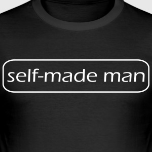 self made man - Slim Fit T-shirt herr