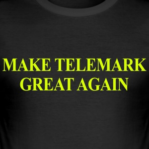 Make Telemark Great Again - Men's Slim Fit T-Shirt