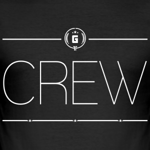 GAMING CREW - THIN - Slim Fit T-skjorte for menn