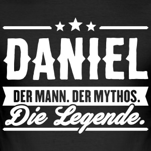 Mann Mythos Legende daniel - Männer Slim Fit T-Shirt