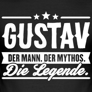 Man Myth Legend Gustav - Men's Slim Fit T-Shirt