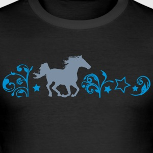 paard galop - slim fit T-shirt