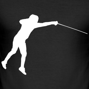 Jumping Fencer - slim fit T-shirt