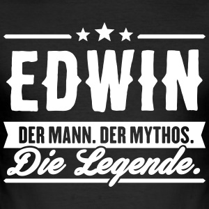 Man Myth Legend Edwin - Men's Slim Fit T-Shirt