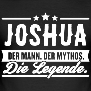 Man Myth Legend Joshua - Slim Fit T-shirt herr