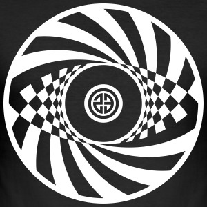 Tekno 23 Spiral Circle - Men's Slim Fit T-Shirt