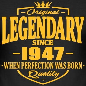 Legendary siden 1947 - Slim Fit T-skjorte for menn