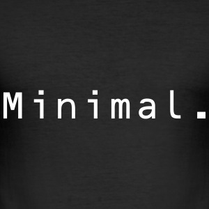 Minimal. - Men's Slim Fit T-Shirt