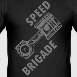 Speed ​​brigade - Slim Fit T-skjorte for menn