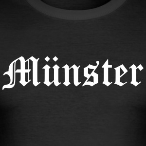Muenster - Slim Fit T-shirt herr