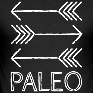 Paleo pijlen - slim fit T-shirt