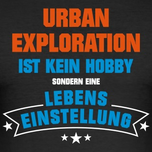 Urban Exploration Sportart - Männer Slim Fit T-Shirt