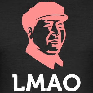 LMAO: Laughing Mao Zedong - Men's Slim Fit T-Shirt